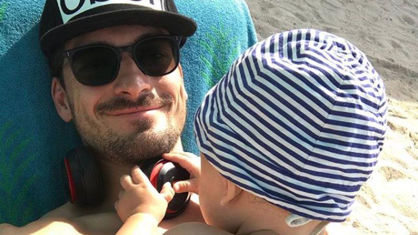 Süße Seltenheit: Mats Hummels postet Foto mit Baby Ludwig
