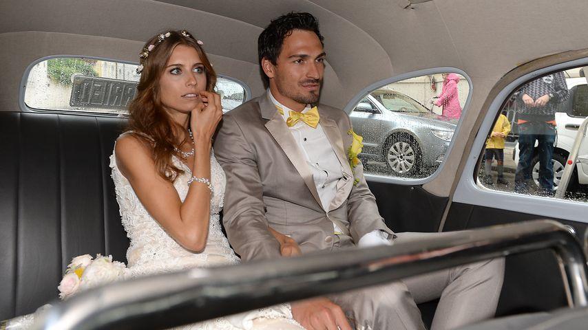 Mats und Cathy Hummels bei ihrer Hochzeit
