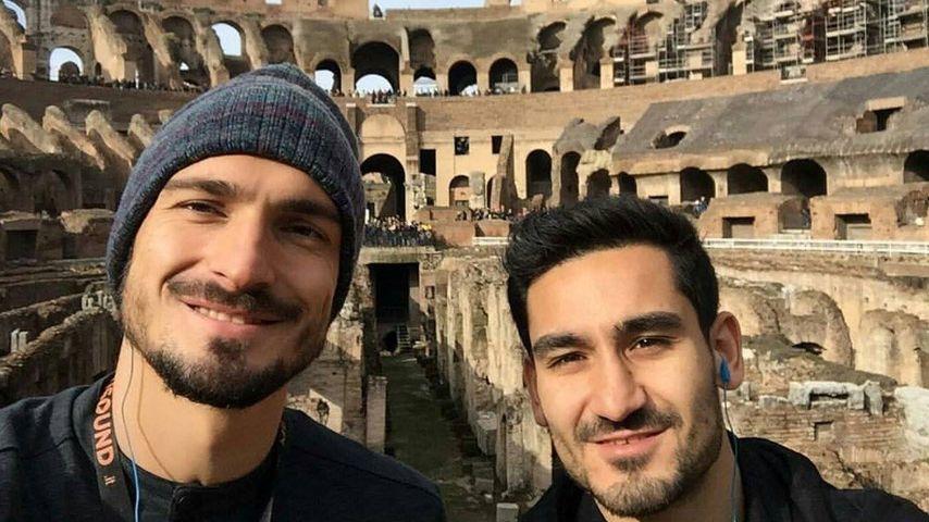 DFB-Jungs on Tour: Mats Hummels & Co. machen Rom unsicher