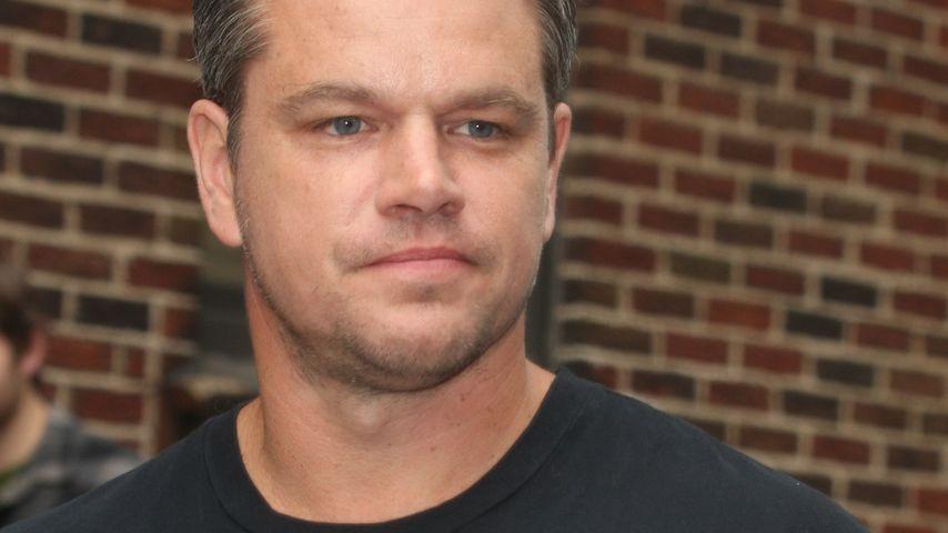 Oje: Matt Damon macht sich Sorgen um sein Geld