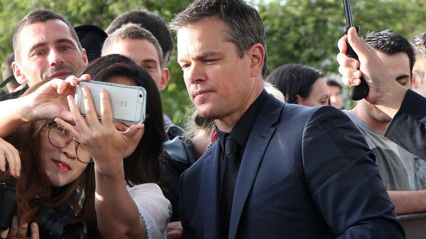 Matt Damon in Paris