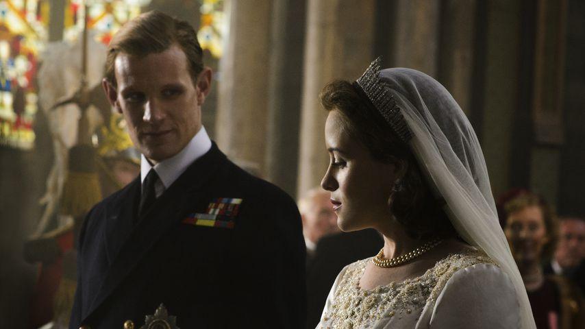 """Matt Smith und Claire Foy in """"The Crown"""""""