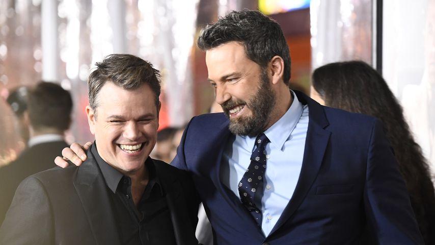 Matt Damon und Ben Affleck im Januar 2017