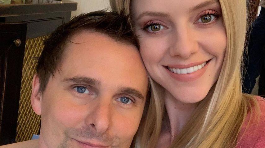 Matthew Bellamy und Elle Evans im Juni 2019