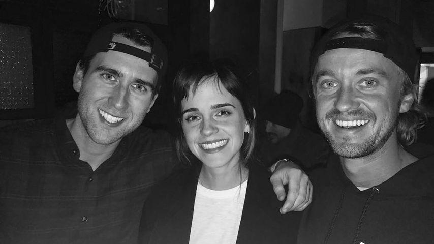 """Sieben Jahre danach: """"Harry Potter""""-Trio feiert Reunion!"""