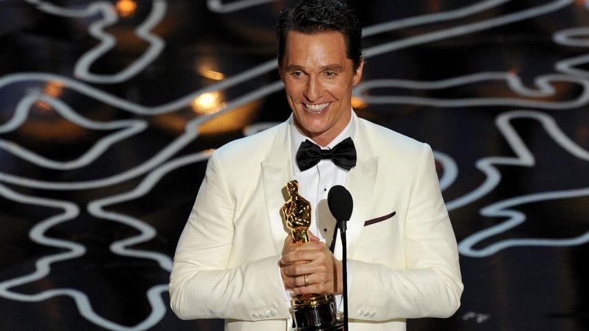 Matthew McConaughey bei der Oscar-Verleihung 2014