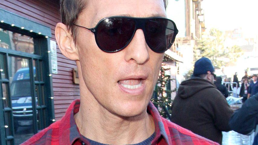 Matthew McConaughey bekommt graue Haare