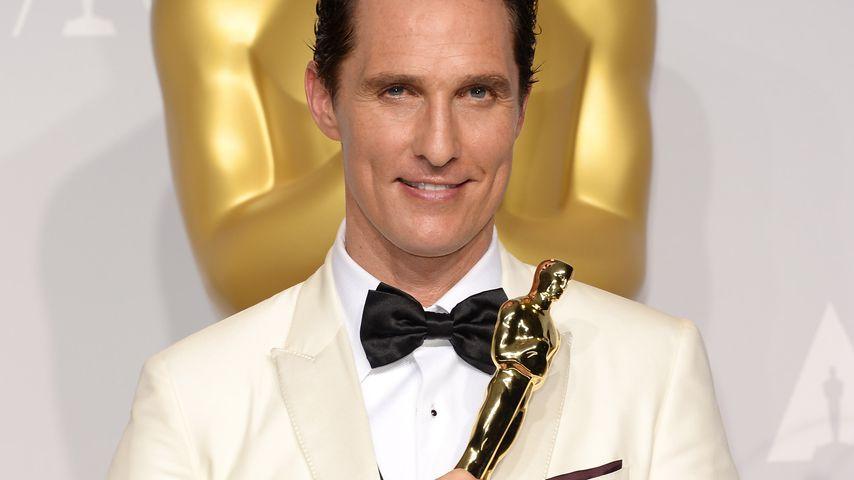 Matthew McConaughey bei den Oscars 2014
