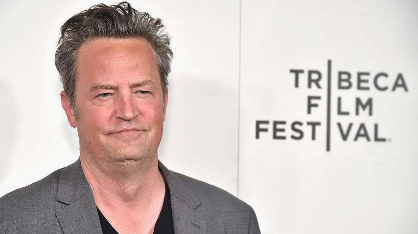 Matthew Perry in New York