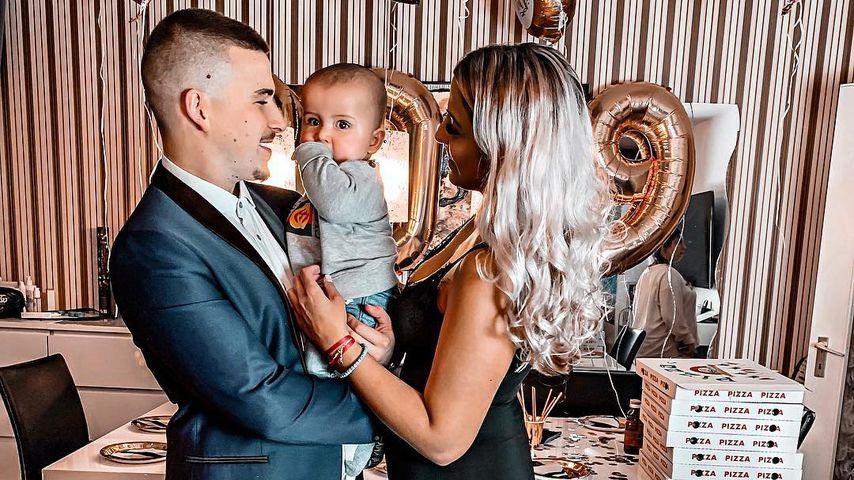 Nach Morddrohung: BTN-Matze & Jenny zeigen Baby Milan wieder