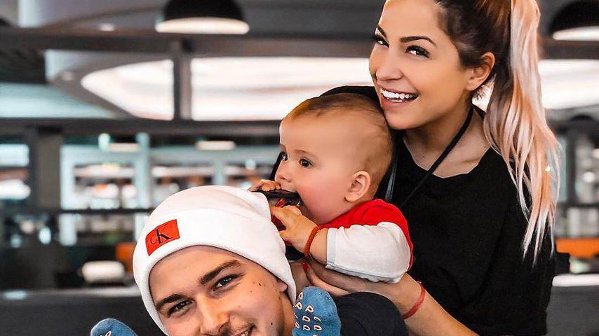 Matthias Höhn und Jenefer Riili mit ihrem Sohn Milan