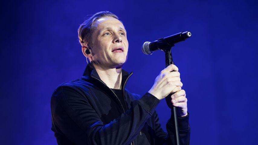 Matthias Schweighöfer bei einem Konzert im Januar 2019