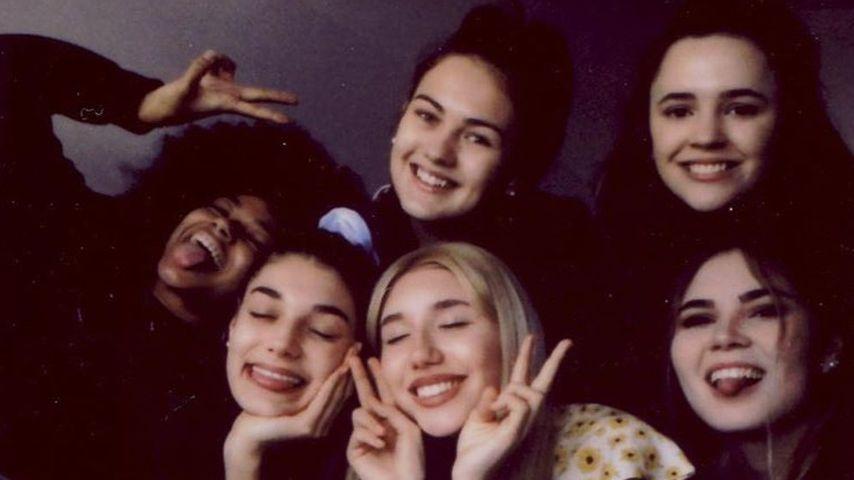 Maureen, Sarah, Bianca, Tamara, Maribel und Johanna von GNTM 2020