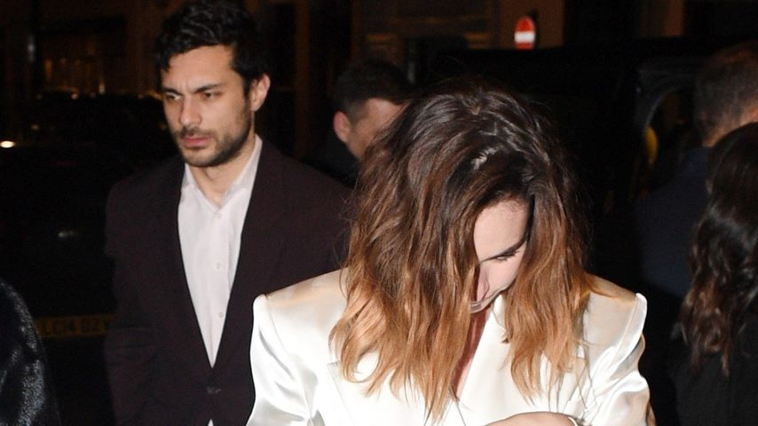 Max Ianeselli und Lily James Dezember 2019 in London