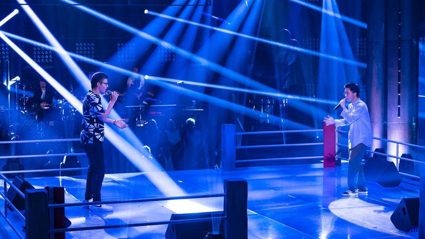 """Max und Sion im """"The Voice""""-Battle"""