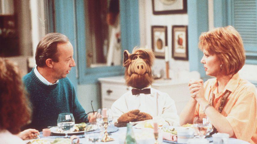 """Max Wright und Anne Schedeen in """"Alf"""""""