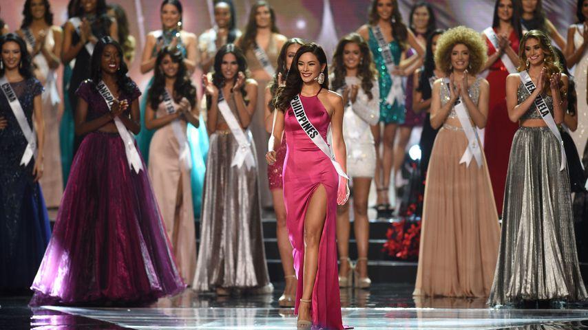 """Maxine Medina bei der Wahl zur """"Miss Universe"""" in Manila"""