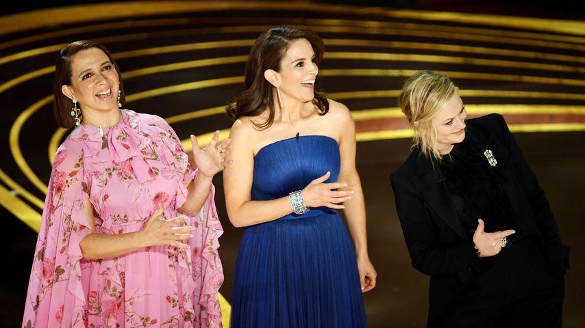 Maya Rudolph, Tina Fey, und Amy Poehler bei der Oscar-Verleihung 2019