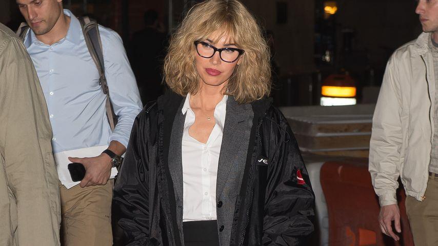 Spießer-Look statt Sex-Bombe: Megan Fox ist jetzt blond
