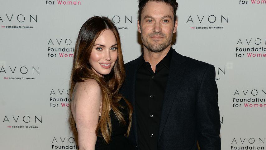 Kugelrunder 30. Geburtstag: So groß ist Megan Fox' Babybauch