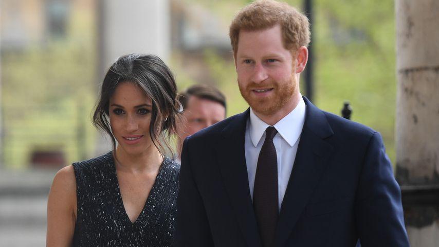Meghan Marke und Prinz Harry bei einem Memorial Service