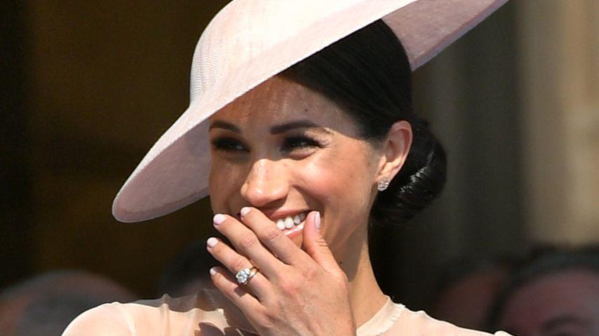 Herzogin Meghan auf Prinz Charles' Gartenparty