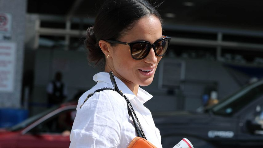 Meghan Markle am Austin Airport