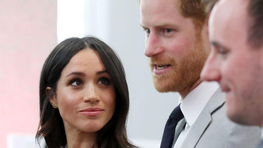 Meghan Markle und Prinz Harry 2018 in London