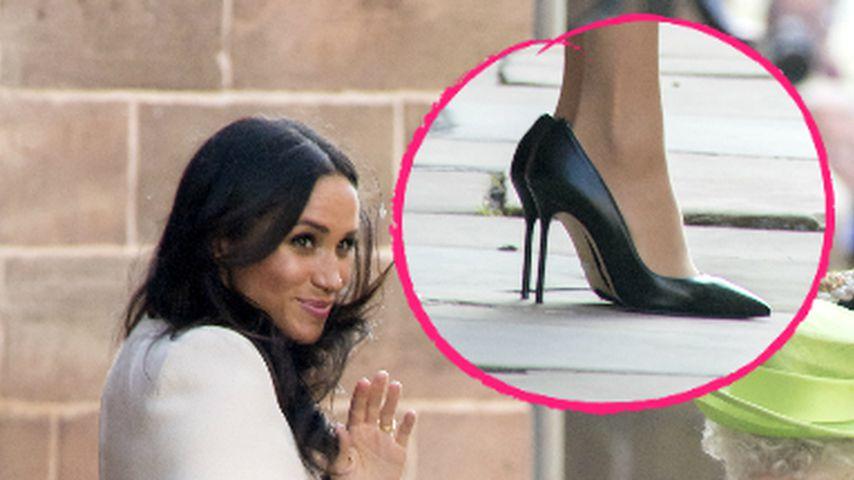 Blasen-Alarm: Deswegen sind Meghans Schuhe immer zu groß