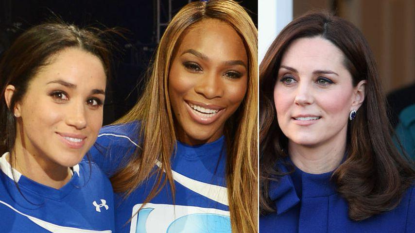 """Nicht BFF Meghan: Kate ist Serena Williams' """"Nummer eins"""""""