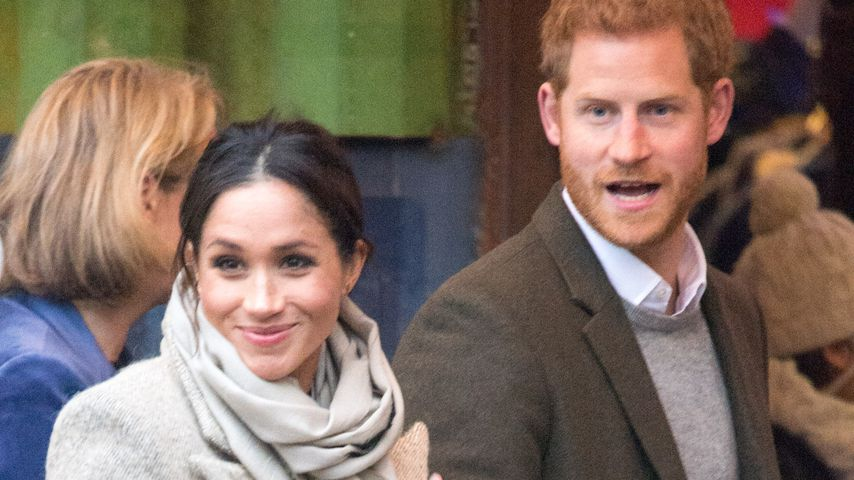 Meghan Markle und Prinz Harry bei einer Veranstaltung in London