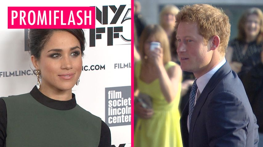 Meghan Markle zu Prinz Harry