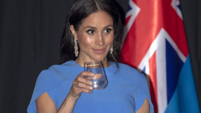 Herzogin Meghan beim Staatsdinner in Suva, Fidschi-Inseln