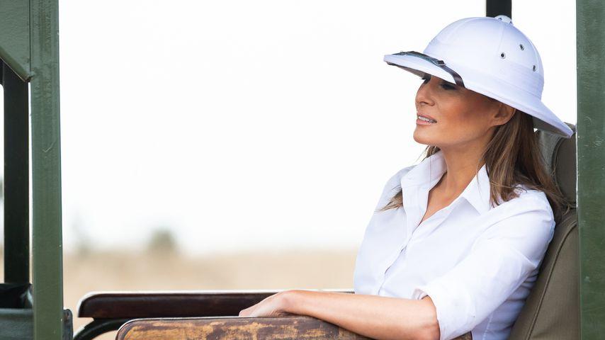 In Afrika: Melania Trump kassiert Shitstorm für ihren Hut!
