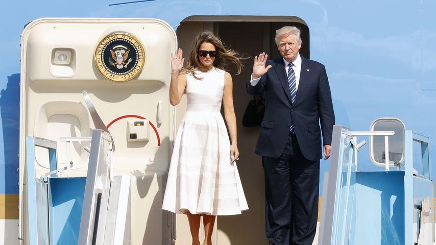 Pfoten weg: Melania lässt Donald Trump öffentlich abblitzen!
