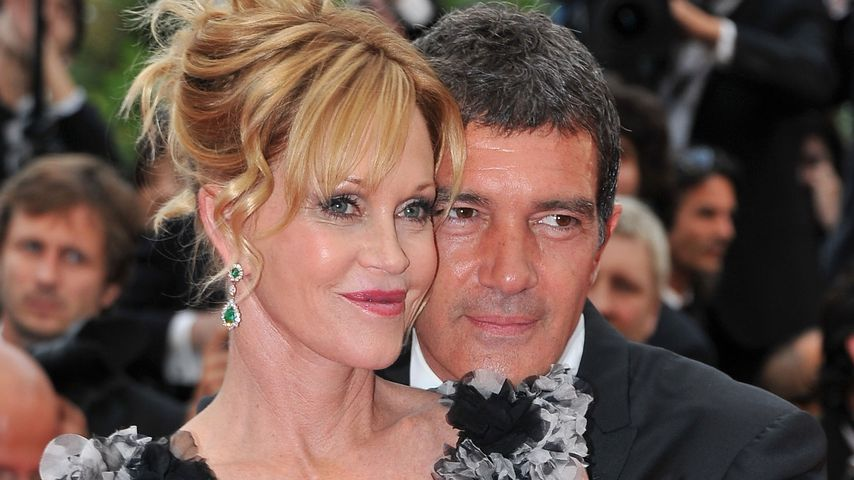 Melanie Griffith und Antonio Banderas im Jahr 2011
