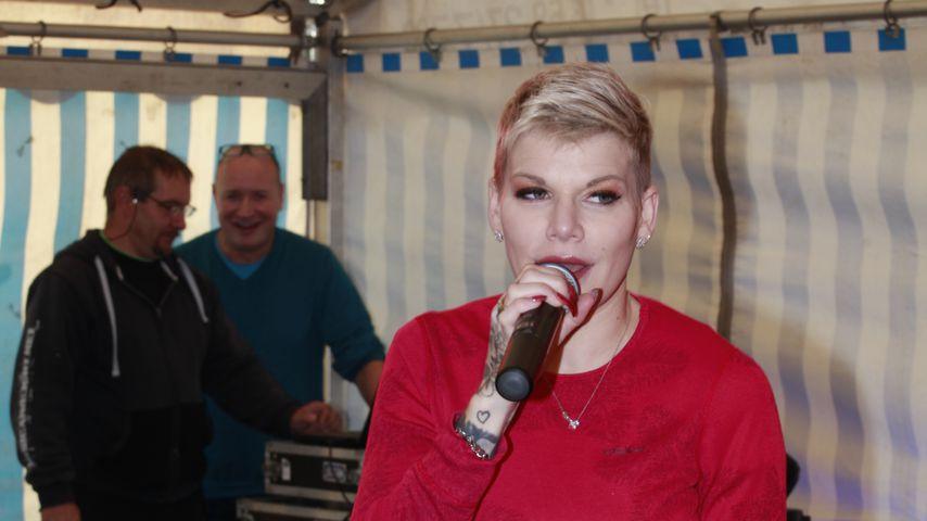 Melanie Müller im Oktober 2019 in Quitzdorf am See, Sachsen