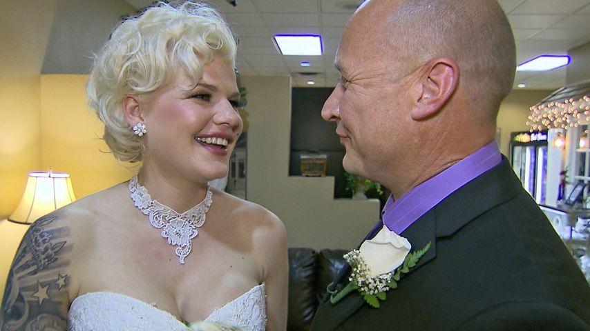 Hergeschaut: Das ist Melanie Müller als Braut!