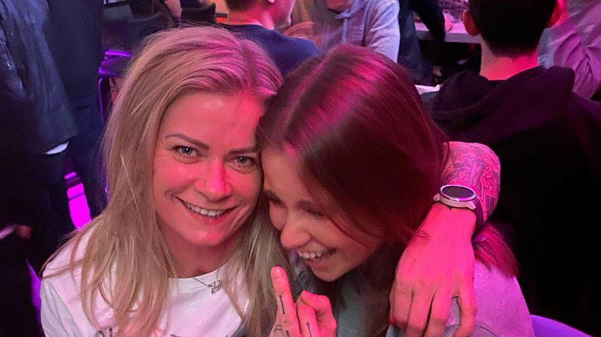 Melina Sophie mit ihrer Partnerin Helga