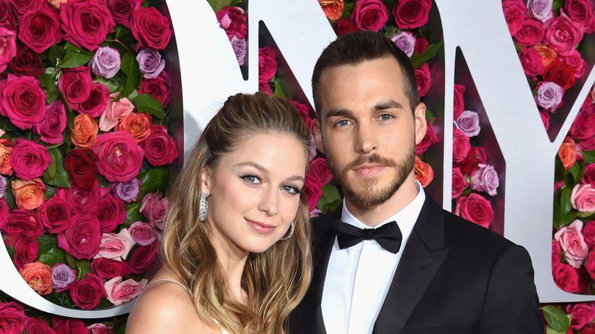 Melissa Benoist und Chris Wood bei den Tony Awards 2018