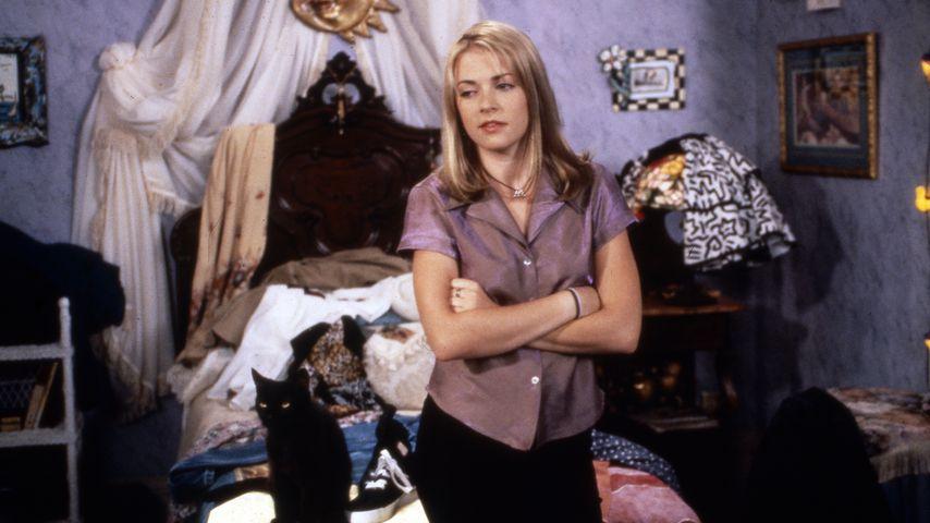 "Melissa Joan Hart am Set von ""Sabrina - Total Verhext!"""