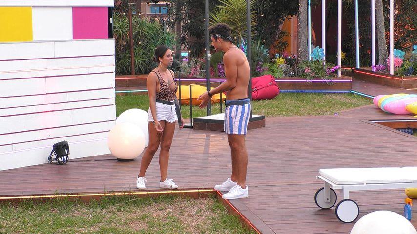 """Melissa und Danilo bei """"Love Island"""""""