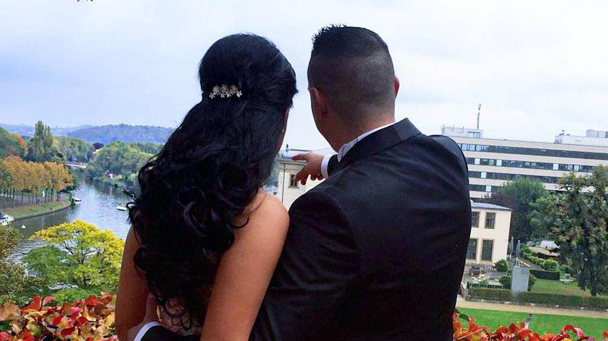 Meltem Acikgöz mit ihrem Verlobten