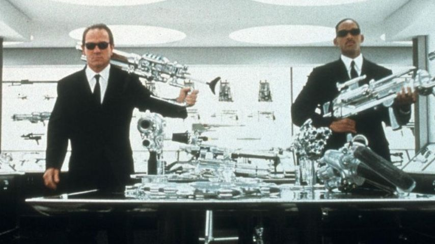 "Was passiert in ""Men in Black 3""?"