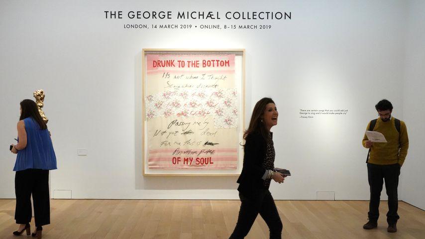 Kunstwerk aus George Michaels privater Sammlung