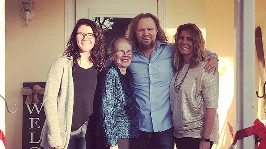 Meri Brown mit Gatte Kody, Tochter Mariah und Mama Bonnie