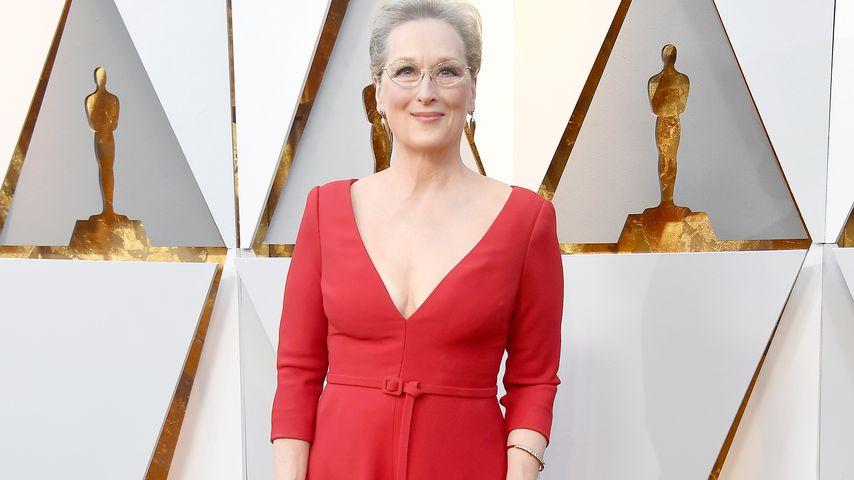 Meryl Streep bei den Oscars 2018