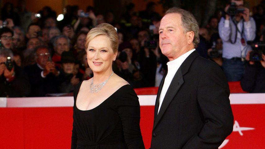 Meryl Streep und Don Gummer im Oktober 2009 in Rom