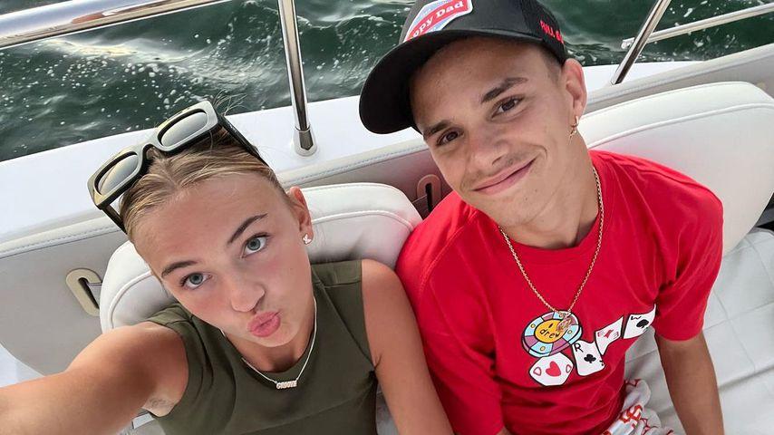 Endlich! Romeo Beckham und Freundin Mia Regan wieder vereint