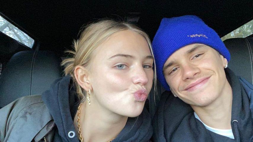 Mia Regan und Romeo Beckham im Dezember 2020